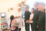 Bệnh viện Quân y 110: Khám bệnh, cấp thuốc miễn phí cho 400 người dân thuộc diện gia đình chính sách, khó khăn