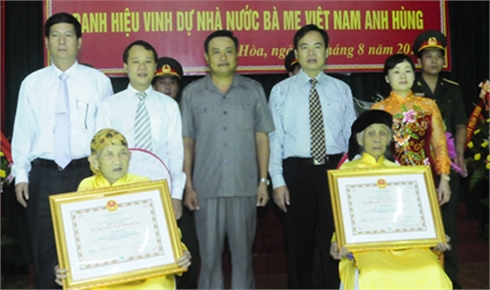 Bắc Giang: Tri ân Mẹ Việt Nam Anh hùng