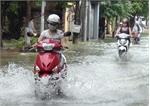 TP Bắc Giang lại chìm trong ngập úng