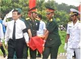 Chủ tịch nước dự lễ truy điệu, an táng hài cốt liệt sỹ tại Nhơn Trạch