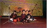 Liên hoan tiếng hát dân ca các nhà văn hóa tiêu biểu 2014