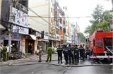 TPHCM: Cháy lớn trong đêm, 7 người tử vong