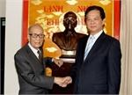 Thủ tướng Nguyễn Tấn Dũng mừng thượng thọ Giáo sư Vũ Khiêu