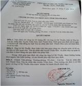 Thanh Hóa: Đình chỉ công tác 3 cán bộ tòa án huyện Triệu Sơn bị tố đòi hối lộ