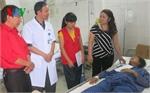 Hội Chữ thập đỏ hỗ trợ các gia đình thiệt hại do bão số 3