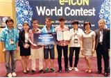 Đoàn học sinh Việt Nam đoạt giải nhì cuộc thi e-ICON thế giới lần thứ 4