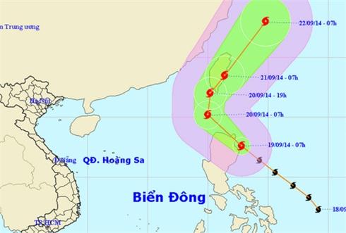 Mưa lũ dứt, bão mới xuất hiện gần biển Đông