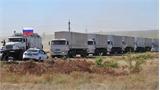 Đoàn xe viện trợ thứ ba của Nga đã tới Donetsk an toàn