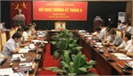 Bắc Giang: Khẩn trương rà soát, đánh giá tiến độ thực hiện các nhiệm vụ năm 2014
