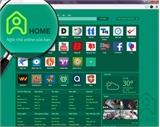 Chính thức ra mắt Ngôi nhà online Home.vn