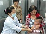 Hơn 368 nghìn trẻ đã được tiêm vắcxin sởi-Rubella an toàn