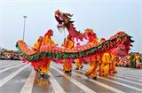 Hơn 1 nghìn người tham gia Liên hoan múa rồng