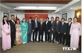 Tổng Bí thư gặp mặt cộng đồng người Việt Nam tại Hàn Quốc