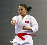 ASIAD 17: Hoàng Ngân đoạt HCB môn quyền karatedo