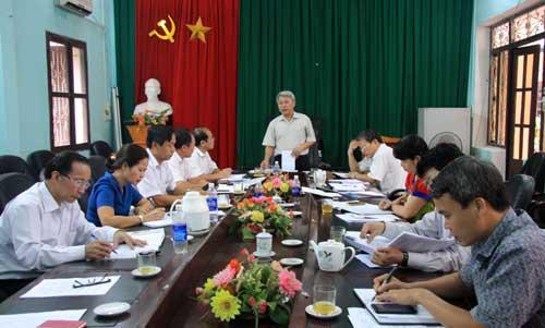 HĐND tỉnh: Giám sát thực hiện quy định về bảo hiểm y tế tại huyện Hiệp Hòa