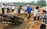 Việc khai thác cát, sỏi đã đi vào nền nếp tại xã Yên Định