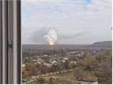 Nổ lớn rung chuyển Donetsk, Ukraine