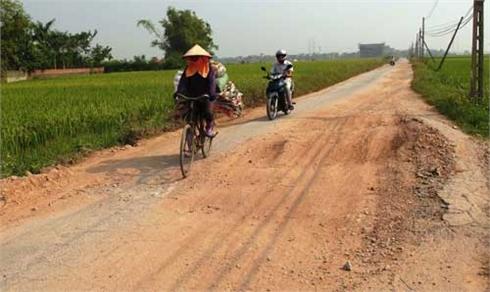 Lỗ hổng trong bảo trì đường giao thông nông thôn
