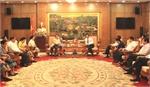 Đoàn cán bộ cấp cao nước CHDCND Lào làm việc tại Bắc Giang