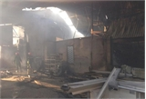 Khống chế thành công đám cháy tại các xưởng trong Công ty Lâm sản