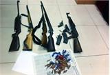 Quảng Ninh: Phá chuyên án ma túy lớn, thu giữ nhiều súng đạn