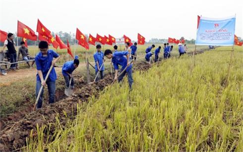 """Xây dựng nông thôn mới ở Bắc Giang: Thêm 4 xã """"cán đích"""""""