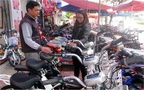 Bất cập trong quản lý  kinh doanh xe đạp điện