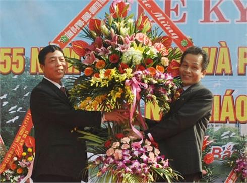 Các đồng chí lãnh đạo tỉnh Bắc Giang chúc mừng Ngày Nhà giáo Việt Nam 20-11