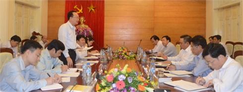Phó Trưởng Ban Tổ chức Trung ương làm việc tại Bắc Giang