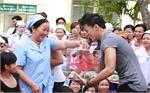 Đặt thùng quỹ nhân đạo tại khoa hô hấp (Bệnh viện Đa khoa Bắc Giang)