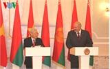 Tổng Bí thư Nguyễn Phú Trọng hội đàm với Tổng thống Belarus