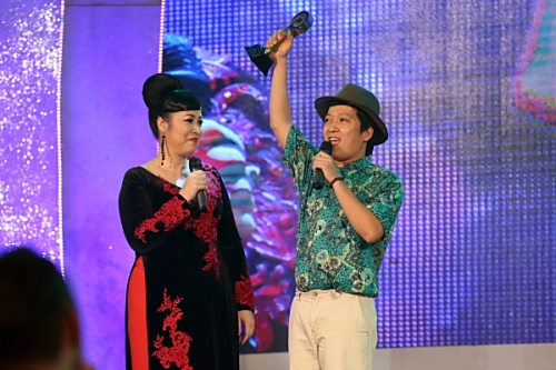 Lễ trao giải, POPS Awards 2014, Trường Giang, nghẹn ngào, cảm ơn, Đàm Vĩnh Hưng