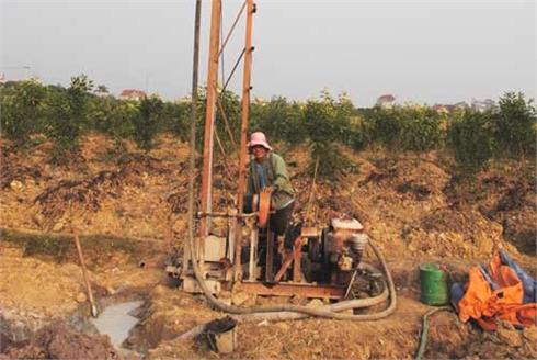 Quản lý hoạt động khai thác nước ngầm: Còn nhiều lỗ hổng