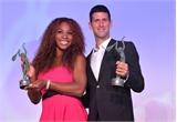 Djokovic và Serena được tôn vinh là 'Tay vợt của năm 2014'