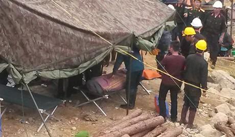 Cập nhật vụ sập hầm thủy điện: Đã cứu được nạn nhân