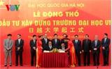 Chủ tịch nước dự Lễ động thổ Trường Đại học Việt Nhật