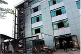 Cháy lớn tại ĐH Công nghệ Đồng Nai, nhiều phòng học bị thiêu rụi