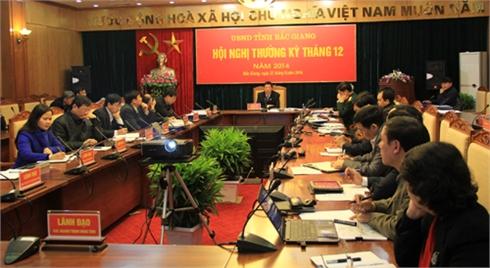 UBND tỉnh Bắc Giang họp phiên thường kỳ tháng 12: Cho ý kiến về một số dự thảo quy hoạch, chiến lược, quy định quan trọng