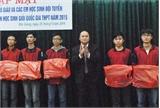 Phó Chủ tịch Thường trực UBND tỉnh Nguyễn Văn Linh gặp mặt đội tuyển thi học sinh giỏi quốc gia