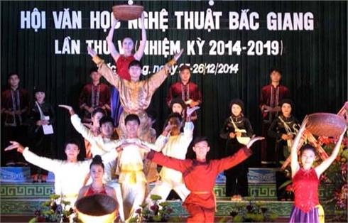Đại hội Hội Văn học nghệ thuật tỉnh Bắc Giang nhiệm kỳ 2014-2019