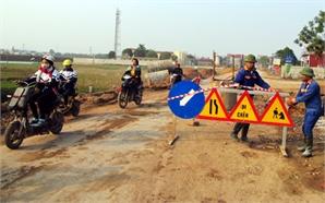 Bảo đảm an toàn trong xây dựng công trình giao thông