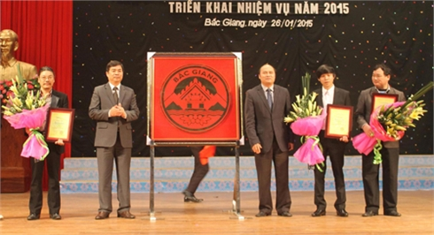 Trao giải cuộc thi sáng tác biểu trưng tỉnh Bắc Giang