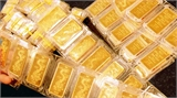 Vàng giảm xuống mức giá 35,40 triệu đồng/lượng