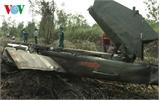 Vụ rơi máy bay quân sự: Truy điệu 4 chiến sĩ hy sinh vào 30-1