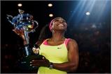 Serena lần thứ sáu vô địch Australia Mở rộng