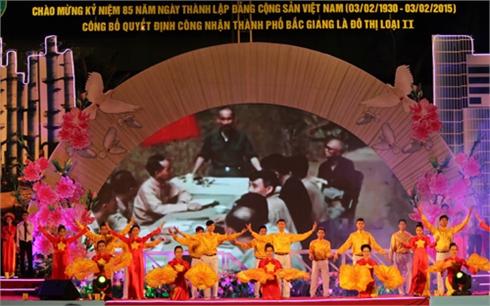 Sôi nổi  các hoạt động chào mừng TP Bắc Giang là đô thị loại II