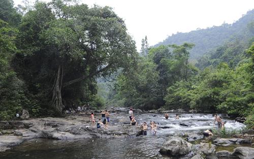 Làm du lịch, cộng đồng, An Lạc, tán rừng, Khe Rỗ