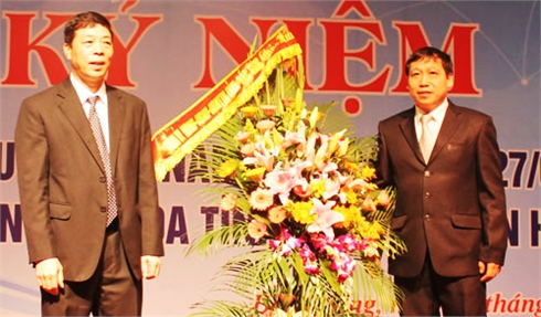 Các đồng chí lãnh đạo tỉnh Bắc Giang chúc mừng Ngày Thầy thuốc Việt Nam 27-2