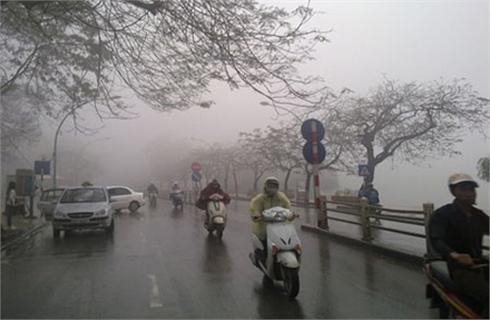 Đông Bắc bộ trời mưa rét, nền nhiệt giảm gần 10 độ C