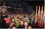 Hơn 2.000 cảnh sát bảo đảm an ninh cho Lễ hội Khai ấn Đền Trần
